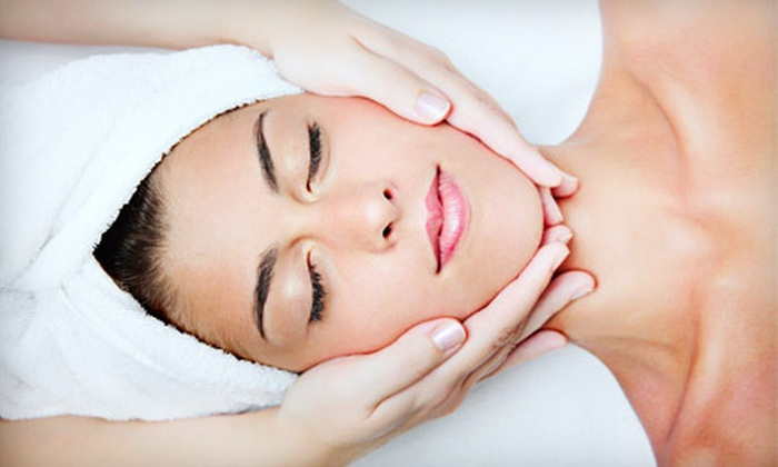 Edges Salon & Spa - Calgary: $72 for Choice of Dermalogica Facial and One Week's Worth of Skincare Products at Edges Salon & Spa (Up to $188 Value)
