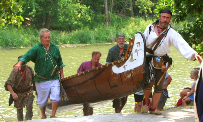 A River Thru History - The Des Plaines Valley Rendezvous - Willow Springs: Two Adult Tickets or a Family Pass to A River Thru History – The Des Plaines Valley Rendezvous  (Up to 48% Off)