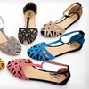 $24.99 for Carrini Rhinestone Ankle-Strap Sandals