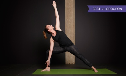 5 or 10 Drop-In Bikram Yoga Classes or a Month of Unlimited Classes at Bikram Yoga Falls Church (Up to 64% Off)