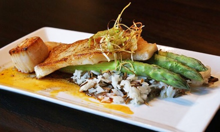 $20 for $40 Worth of American Cuisine at 3 Fires Lounge