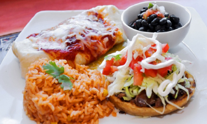 Sergio's Cantina - Geneva: Mexican Food and Drinks at Sergio's Cantina (47% Off). Two Options Available.