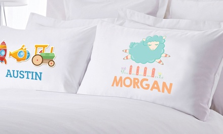 One or Two Custom Kids' or Teen Pillowcases from Monogram Online (Up to 70% Off)