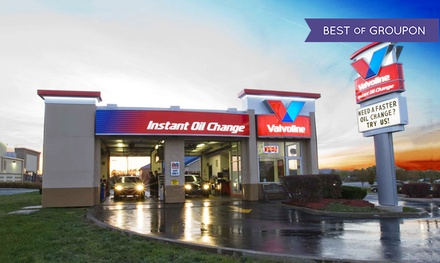 Conventional, Synthetic-Blend, or Full-Synthetic Oil Change at Valvoline Instant Oil Change (Up to 44% Off)