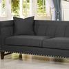 Stapleton Modern Linen Sofa