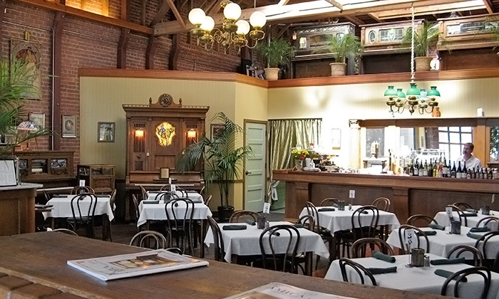 Orchestria Palm Court - Downtown San Jose: Crafted Specialty Fountain Drinks & Appetizers at Orchestria Palm Court (Up to 33% Off). Two Options Available.