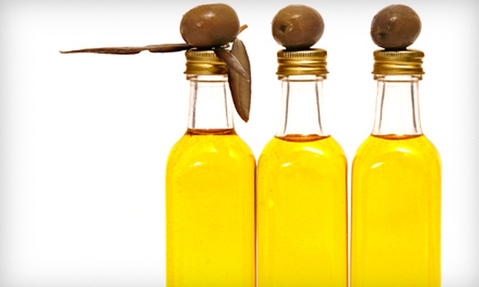 The Flavor Exchange - Downtown Southern Pines: Organic Olive Oil and Balsamic Vinegar at The Flavor Exchange in Southern Pines (Up to 55% Off). Two Options Available.