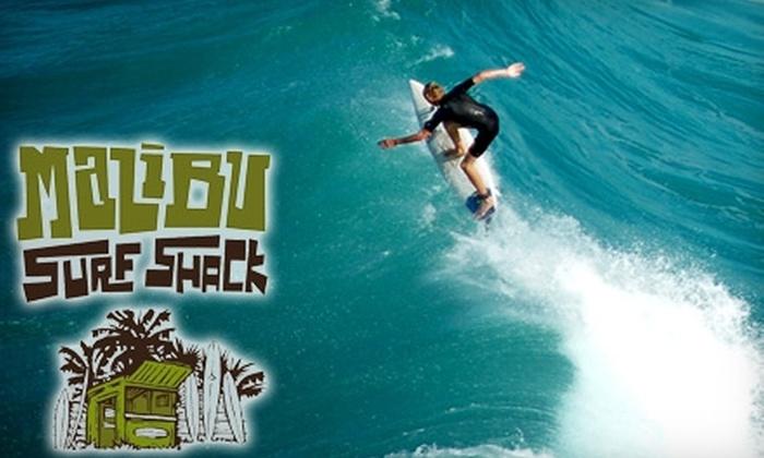 Malibu Surf Shack - Eastern Malibu: $60 for a Surfing Lesson from Malibu Surf Shack ($125 Value)