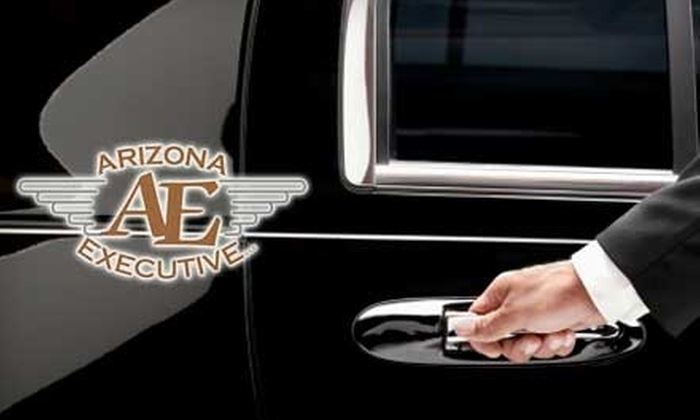 Arizona Executive LLC - Phoenix: $60 for Round-Trip SUV Ride from Your House to Sky Harbor Airport for Up to Four People from Arizona Executive (Up To $120 Value)