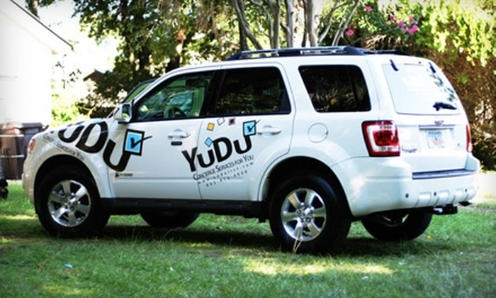YuDu Personal Concierge - Mount Pleasant: $19 for Two Hours of Concierge Services from YuDu ($60 Value)