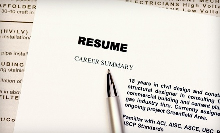 1 Resume-Services Package (a $130 value) - Market Connections in
