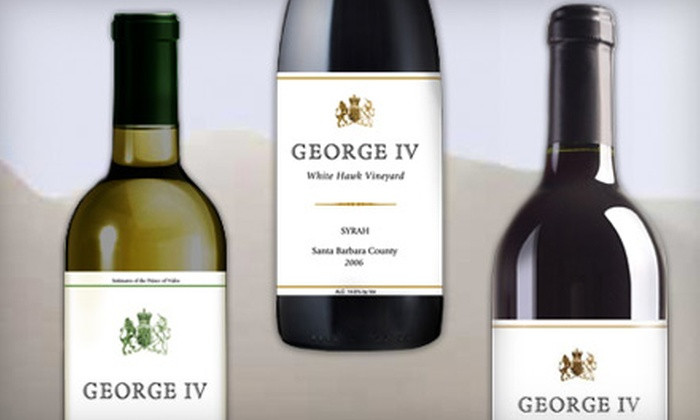 George IV Wines: $40 for $100 Worth of Delivered Wine from George IV Wines