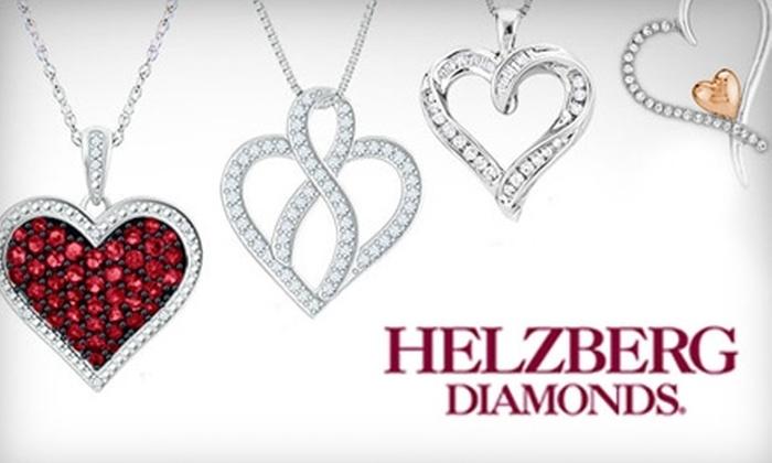 Helzberg Diamonds - Multiple Locations: $50 for $100 Worth of Fine Jewelry at Helzberg Diamonds