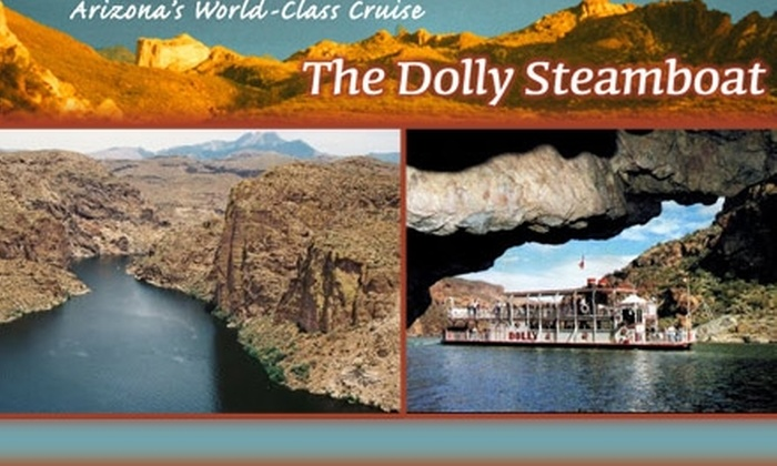 Dolly Steamboat - Tonto: $10 for a 90-Minute Narrated Nature Cruise from Dolly Steamboat ($20 Value)