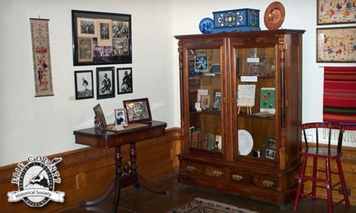 Erie County Historical Society - Downtown Erie: Four Visits, Individual or Couples Membership, or Family Membership to Erie County Historical Society (Half Off)