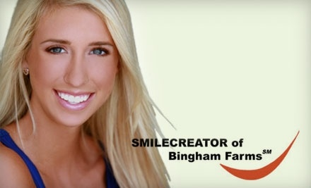 Smile Creator: 1 Laser Teeth Whitening Treatment - Smile Creator in Bingham Farms