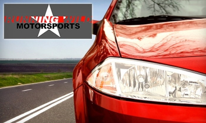 RunningWild Motorsports - Elkhorn: $45 for Car-Detailing Package at RunningWild Motorsports ($120 Value)