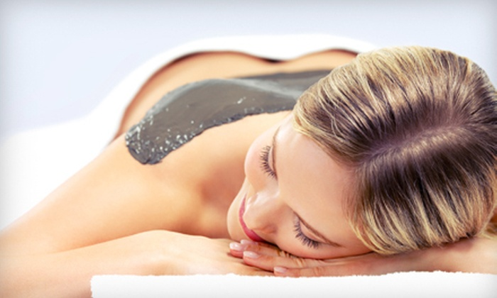 Sanctuary Spa - Eagle: Bluberry Detoxifying or Mango Enzyme Hydrating Body Wrap with or Without Express Facial at Sanctuary Spa in Eagle (Up to 56% Off)