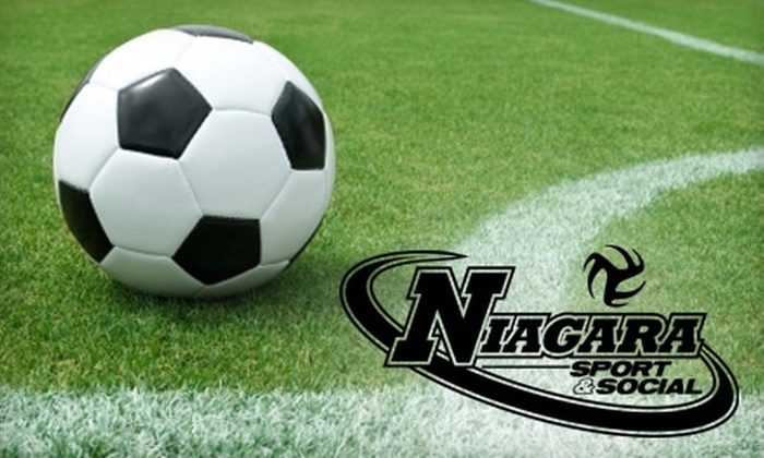 Niagara Sport & Social - St Catharines-Niagara: $59 for a Fifteen-Week Outdoor Soccer League Membership and Team Jersey from Niagara Sport & Social ($120 Value)