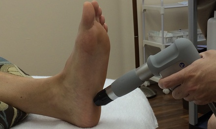 $275 for $550 Worth of Plantar Fasciitis and Heel Spurs Treatment at Float and Flourish Center