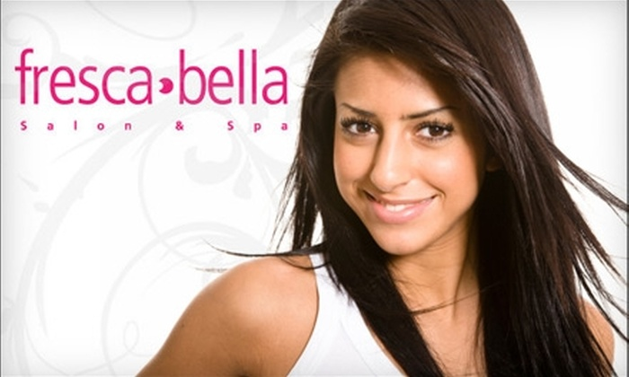 fresca bella - Saskatoon: $17 for a Haircut (Up to $35 Value) or $50 for $100 Worth of Cut & Colour Services at fresca bella
