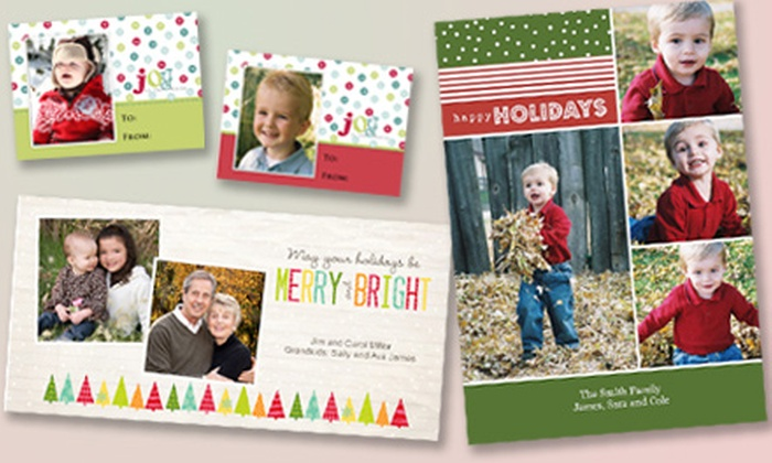 MotoPhoto & Portrait Studio - Northeast Grand Rapids: 25, 50, or 100 Custom Photo Greeting Cards with Envelopes and Gift Tags at MotoPhoto & Portrait Studio (Up to 55% Off)