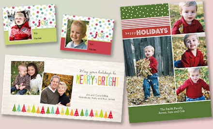 25-Card Custom Holiday Printing Package (up to a $33 value) - MotoPhoto & Portrait Studio in Grand Rapids