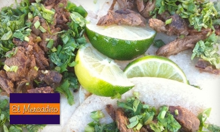 El Mercadito Mexican Restaurant - Tallahassee: $7 for $15 Worth of Mexican Cuisine and Drinks at El Mercadito