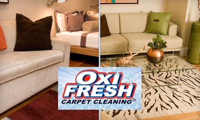 Oxi Fresh - Charlotte: $59 for Two Rooms of Carpet Cleaning and Two Rooms of Protectant Application from Oxi Fresh ($118 Value)