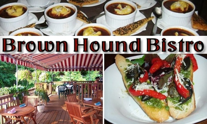 Brown Hound Bistro - South Bristol: $20 for $40 Worth of Creative Fare and Drinks at Brown Hound Bistro in Bristol Springs