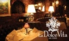 La Dolce Vita - Beverly Hills: $35 for $70 Worth of Italian Fare and Drinks at La Dolce Vita
