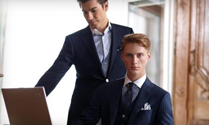 Quattro Clothiers - Downtown Toronto: $99 for $300 Toward Custom-Made Men's Clothing at Quattro Clothiers