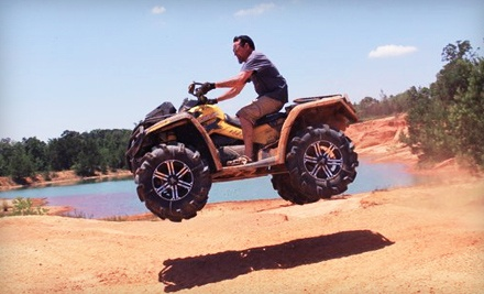 ATV Weekday Package Tour Includes Fuel, Insurance, Rental, T-Shirt, and Video/Picture Package (a $270 value) - ATV Swamp Tour in Norco