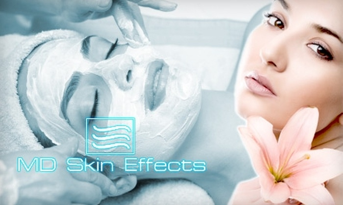 MD Skin Effects - St. Petersburg: $49 for a Facial, Eye Mask, Shoulder Massage, Eyebrow Waxing, and Lip-Glossing Spa Package at MD Skin Effects ($165 value)