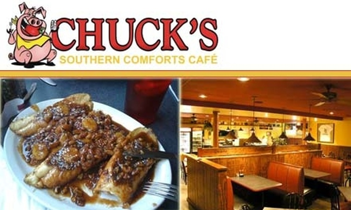Chuck's Southern Comforts Café - Burbank: $10 for $20 Worth of Barbecue Fare and More at Chuck's Southern Comforts Café