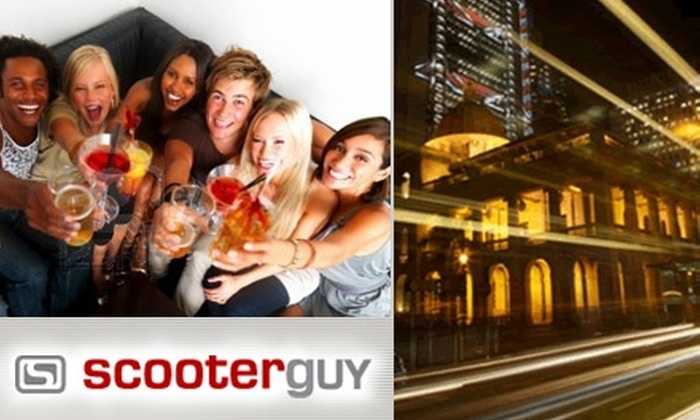 ScooterGuy - St Louis: $25 for $55 Worth of Designated-Driver Service for You and Your Car from ScooterGuy