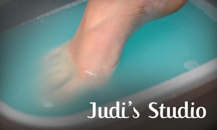Judi's Studio - Riverside South - Greely: $20 for 30-Minute Ion Cleanse Detox Foot Bath at Judi's Studio ($45 Value)