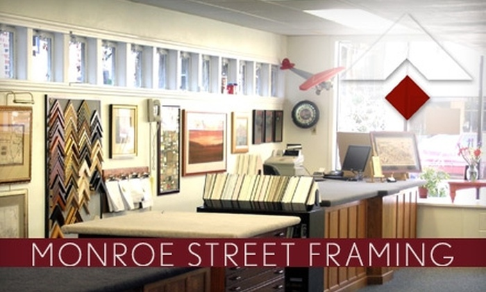 Monroe Street Framing - Vilas: $49 for $110 Toward Custom Framing at Monroe Street Framing