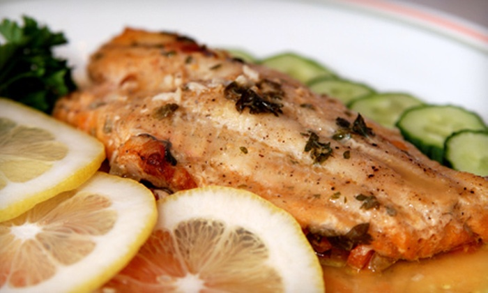 Mainely Seafood - Deerfield and Sunset: Dinner for Two or $15 for $30 Worth of New England Seafood, Steak, and Pasta at Mainely Seafood in Southington