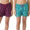 4-Pack of Love 2 Sleep Ladies' Printed PJ Shorts