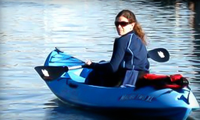 Kayak Annapolis - Annapolis: Two-Hour Guided Kayak Tours for One or Two from Kayak Annapolis (Up to 58% Off). Sunset-Tour Options with Wine and Cheese Available.