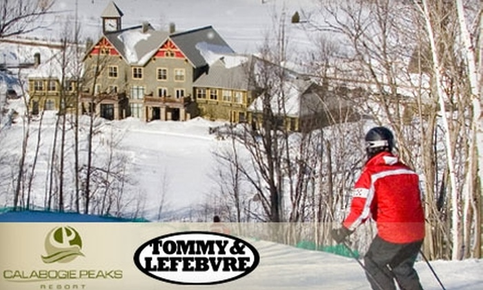 Calabogie Peaks - Calabogie: $39 for a Full-Day Lift Ticket and High-Performance Ski Demo at Calabogie Peaks (Up to $79 Value)
