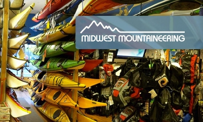 Midwest Mountaineering - Minneapolis / St Paul: $10 for $20 of Outdoor Gear, Apparel, and More at Midwest Mountaineering