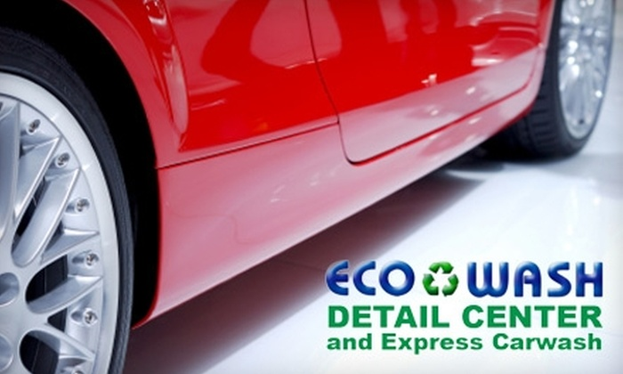 Ecowash Detail Center and Express Carwash - Athens, GA: Auto Cleaning Services at Ecowash Detail Center and Express Carwash. Two Options Available.