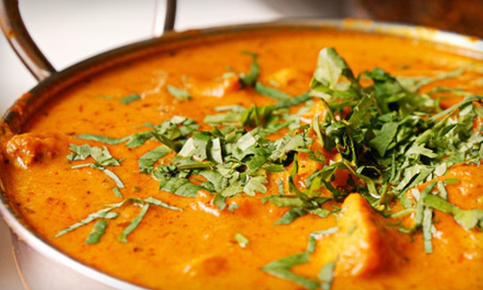 Taj Palace Indian Restaurant - Meadow Vale: Two-Course Indian Dinner for Two or $10 for $20 Worth of Indian Cuisine at Taj Palace Indian Restaurant