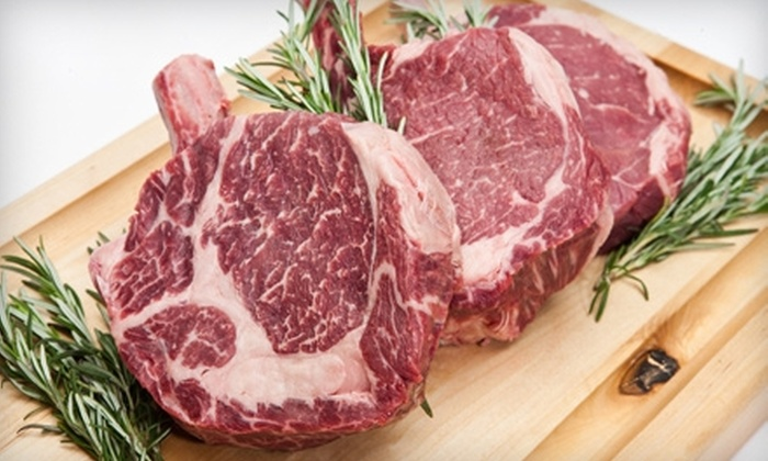 Lux Steakhouse + Bar - Edmonton: $25 for $50 Worth of Steak-House Fare and Drinks at Lux Steakhouse + Bar