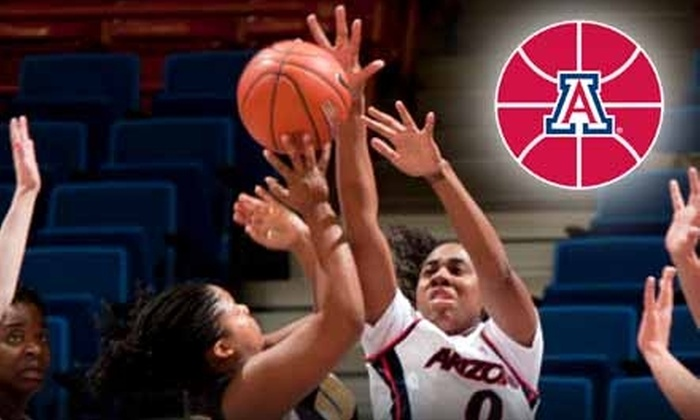 University of Arizona Women's Basketball - Ward 6: $12 for Four-Game Ticket Package for University of Arizona Women's Basketball ($24 Value)