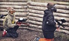 Frog Holler Paintball - Park: Three-Hour Paintball Session with Rental Equipment for 4, 8, 12, or 14 at The Edge Paintball Adventures (Up to 64% Off)
