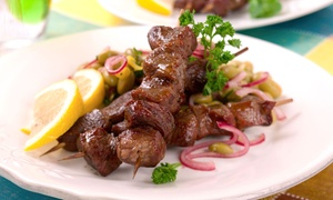 Delhi Kabab House: Indian Food and Hookah for Two or Four at Delhi Kabab House (Up to 48% Off)