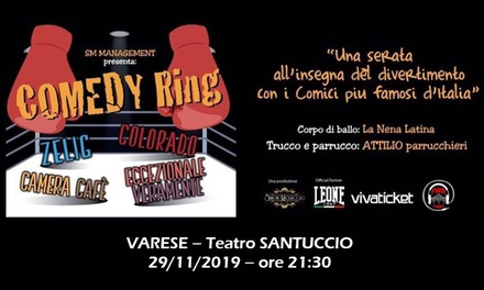 Comedy Ring a Varese